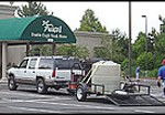 Del Frisco's oil spill clean up