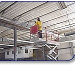 F & S Sales interior building pressure washing