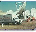 AT&T called Wash On Wheels to pressure wash their satellite dishes