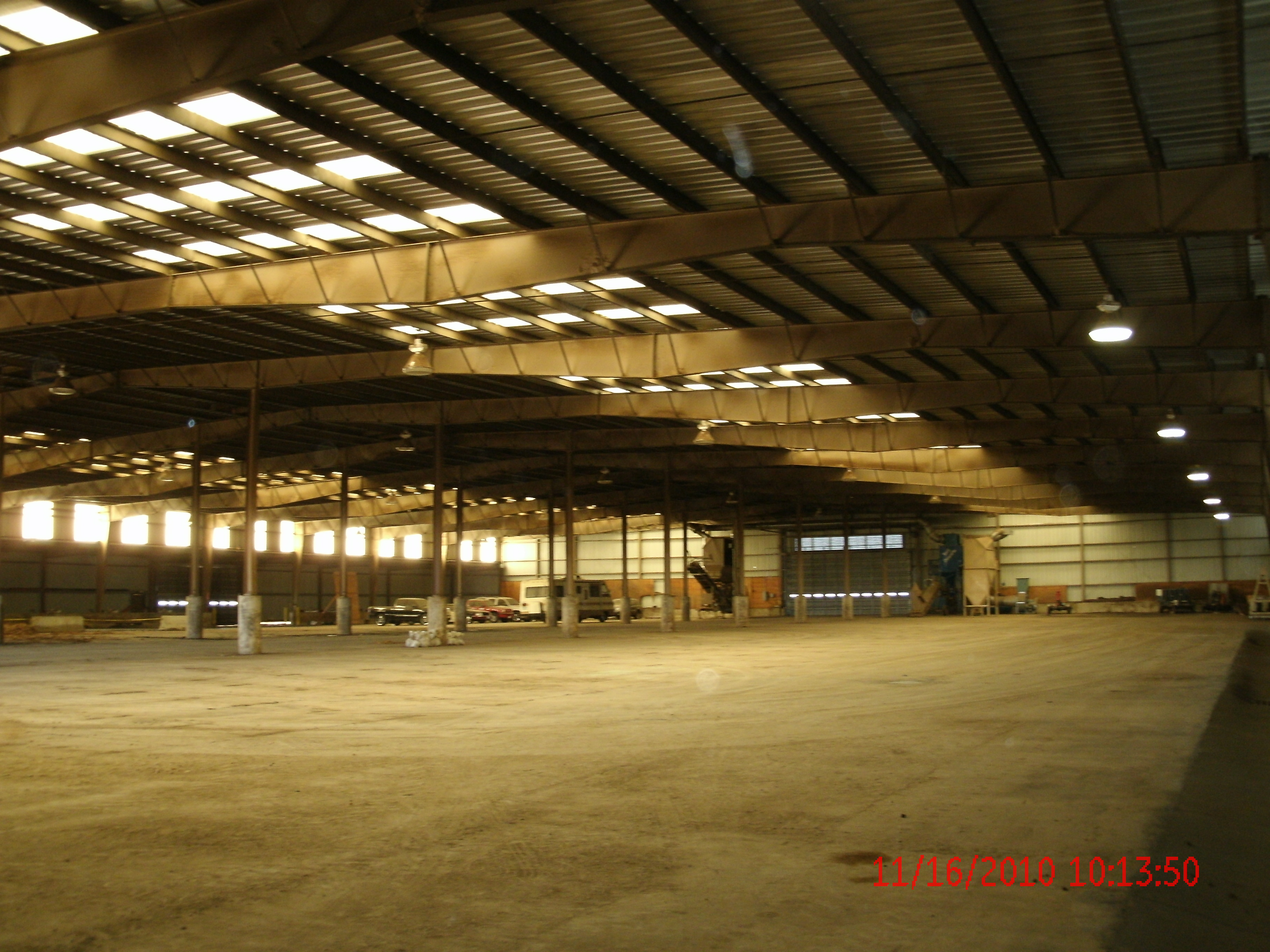 Pressure Washing The Walls And Ceilings Of An 80,000sf Warehouse