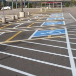 Handicap Pavement Marking