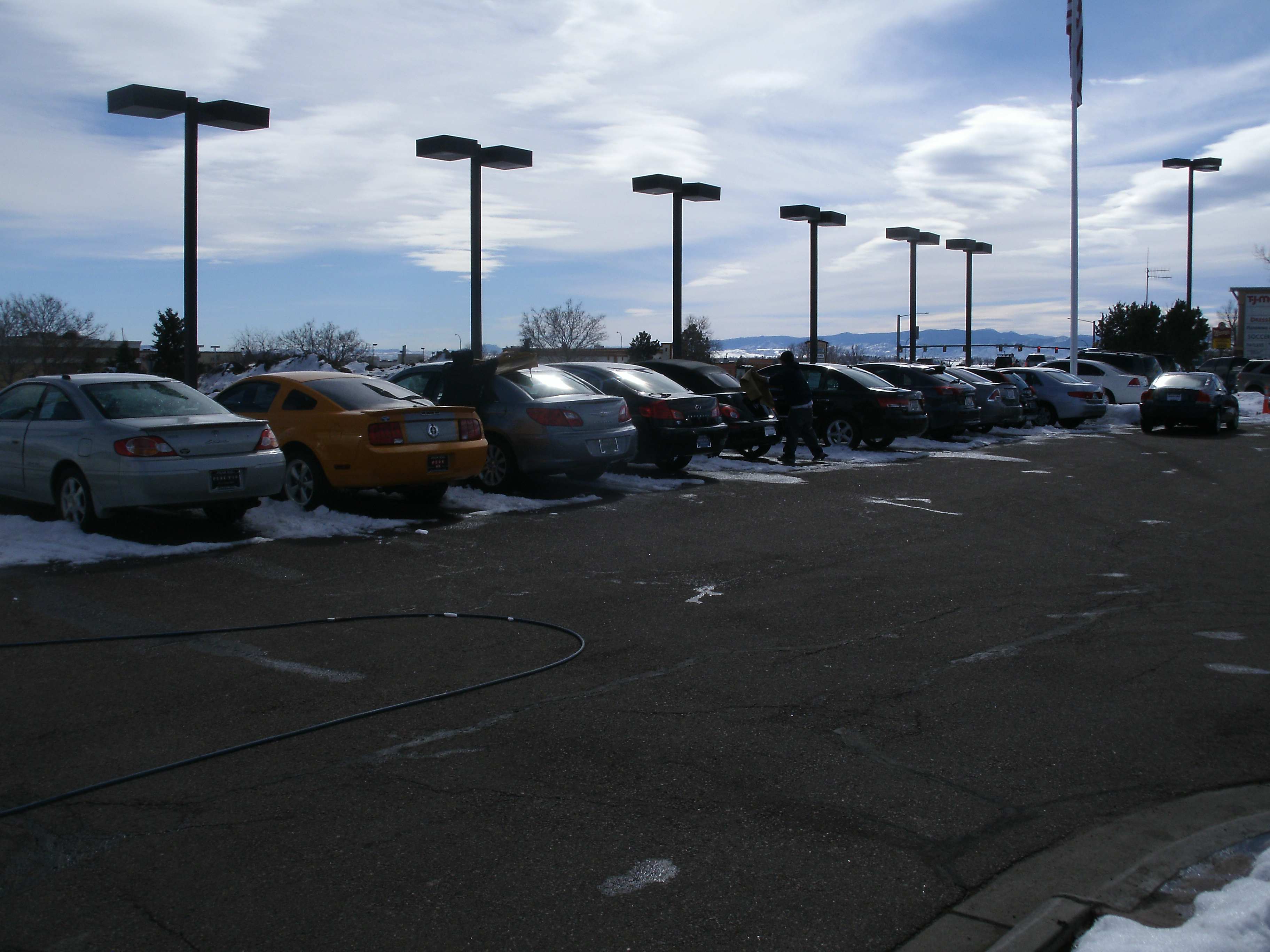 Denver Car Washing At Auto Dealerships In The Winter