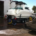 Boat cleaning at our shop in Denver 05