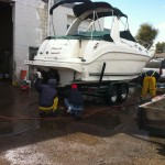 Boat cleaning at our shop in Denver 06