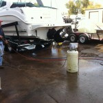 Boat cleaning at our shop in Denver 11