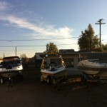 Boat cleaning at our shop in Denver 20