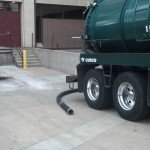 Pressure Washing A Trash Pit At Denver University 07