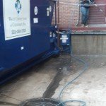 Pressure Washing A Trash Pit At Denver University 15