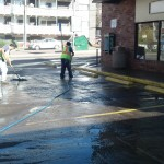 Construction Cleanup At A Convenience Store 02