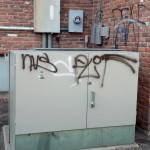 Graffiti Removal At A Shopping Center 10