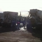 Pressure Washing Cement Trucks 03