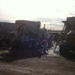 Pressure Washing Cement Trucks 02