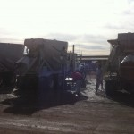 Pressure Washing Cement Trucks 01