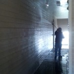 Pressure Washing Apartment Building Breezeways 10