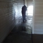 Pressure Washing Apartment Building Breezeways 08