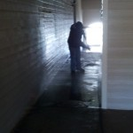 Pressure Washing Apartment Building Breezeways 06