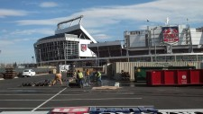 Pressure Washing Equipment at Sports Authority Field 01