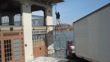 Pressure Washing The Historic Boat House At Washington Park 10
