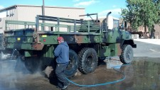 Truck Washing For The Colorado National Guard 25