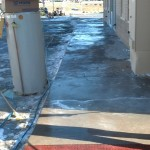 Pressure Washing Denver Sidewalks In The Winter - Video 13