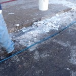 Pressure Washing Denver Sidewalks In The Winter - Video 11